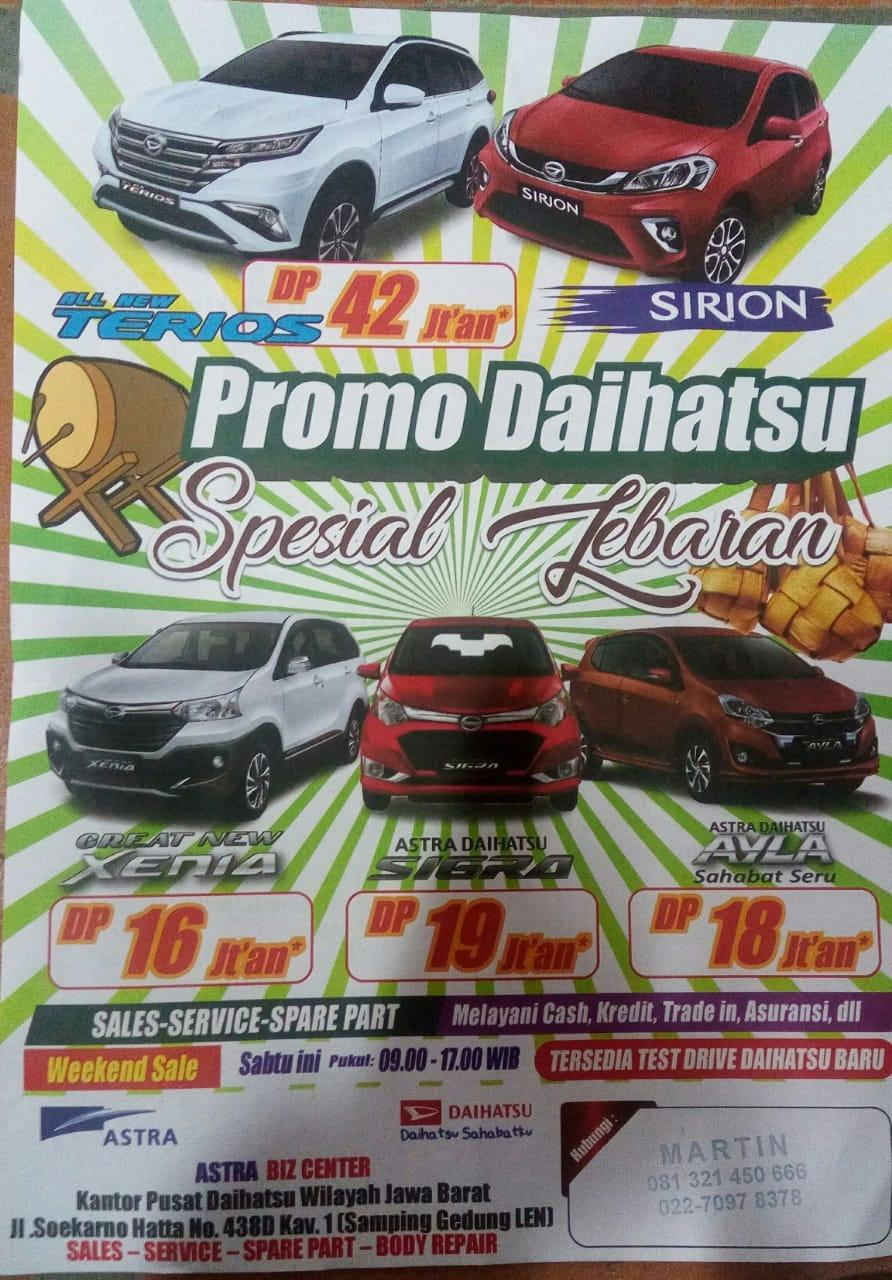 Promo Daihatsu By Martin